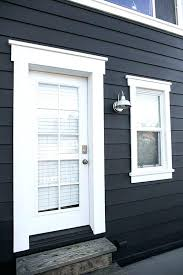 Exterior Door Casing Kit The Paint Schemes For House Exterior Exterior Window