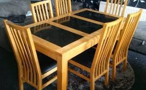 granite dining table models granite dining table granite top dining table set lofty design all