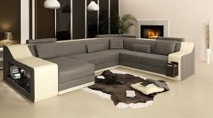 Big Leather Sofas Modern Living Room Sofa Big Leather Sofa 0413 B2007 In Living Room
