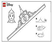 lego disney coloring pages free printable