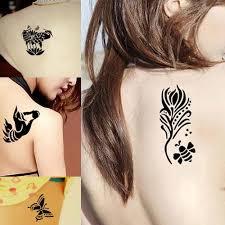 rose flower henna tattoo stencils 8 pieces shark offers