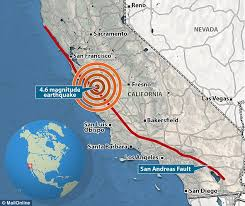san francisco fault map 134 earthquakes rattle san andreas fault in just one week daily