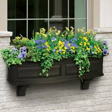 plastic window boxes pots u0026 planters the home depot