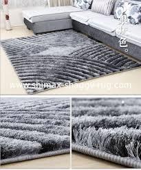 carpet for living room 5d popular modern polyester shaggy carpet for living room