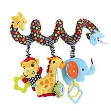 jouet siege auto toymytoy kid lit berceau landau bébé suspendus hochets spirale