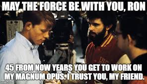 Howard Meme - star wars ron howard and george lucas meme by cambion hunter on