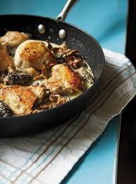 cuisiner des morilles poulet aux morilles ricardo
