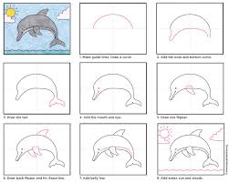 dolphin art projects for kids