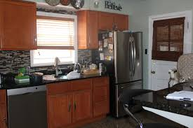 Oak Cabinets In Kitchen Kitchen Paint Ideas With Oak Cabinets And Black Appliances