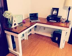 Corner Desk Ideas U Shaped Wrap Around Desk 001 Diy Corner Computer Home Design 16