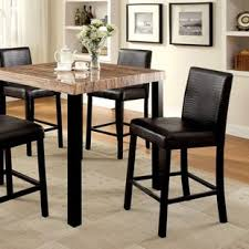 contemporary counter height table counter height espresso kitchen dining tables you ll love wayfair