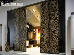 decorating ideas sliding glass door curtains decor modern design of sliding door for home decoration ideas