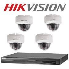 4mp hikvision 4 channel camera diy cctv kit