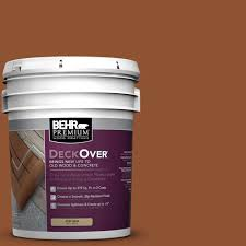 behr premium deckover 1 gal sc 122 redwood naturaltone wood and
