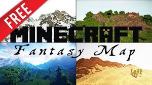 Biome World Map by Minecraft Epic Fantasy Rpg Map Download Youtube