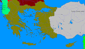 Map Of Greece And Turkey by An Alternate History Of The Netherlands And More Almanac Greece