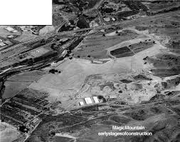Six Flags In California Address Scvhistory Com Sr9602 Magic Mountain Initial Construction 1969