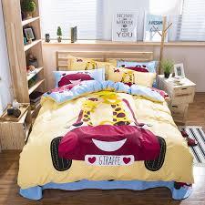Giraffe Bed Set Giraffe Bedding Set Size Bed Sheets