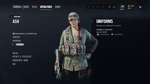 Rainbow Six Siege Operators In How To Equip Elite Skins In Rainbow Six Siege Shacknews