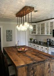 Rustic Kitchen Pendant Lights Rustic Pendant Lighting For Kitchen 18