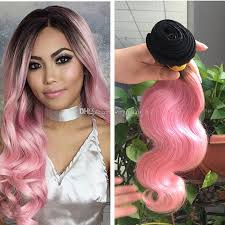 ombre hair weave african american 9a ombre hair extensions black and pink ombre virgin human hair