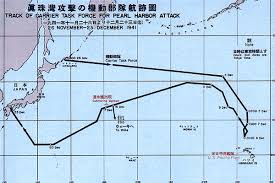 United Route Map 1941 Pearl Harbor Attack Map U2013 Atlantic Sentinel