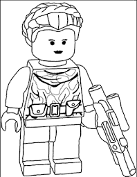 coloring lego star wars coloring page