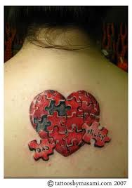 229 best puzzle pieces tattoos images on pinterest tattoo ideas