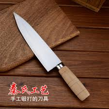 handmade kitchen knives free shipping qins professional forged kitchen slicing
