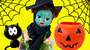 baby alive gets witch halloween costume surprise toys trick or