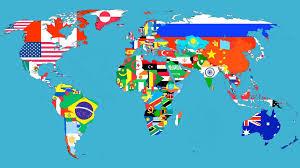 England On The World Map by Iac Iac Irtac