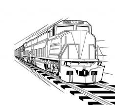 train coloring pages train 2017