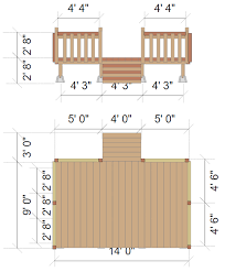 Deck Floor Plan | deck designer online app or free download
