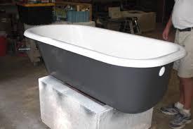 refinish cast iron bathtub custom tubs inc cast iron tub refinish project photo gallery