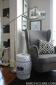 Ikea Strandmon Armchair The Ikea Strandmon Wing Chair Is A Comfortable Piece With A