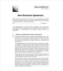 Software Nda Template software development nda agreement template non disclosure agreement