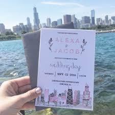 Wedding Invitations Chicago 44 Best Wedding Invitations Images On Pinterest