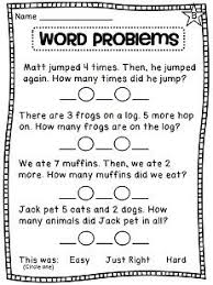 addition word problems grade 40 best story problems images on teaching ideas