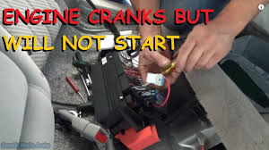 buick lucerne crank no start no fuel pressure youtube
