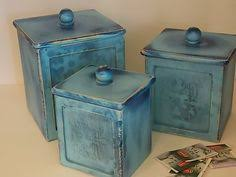 wooden canisters kitchen vintage rooster wooden canister set flour by vintagesouthwest