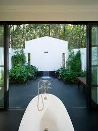 outdoor bathroom ideas outdoor shower bath tropical design