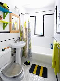 Diy Small Bathroom Ideas Boys U0027 Skateboard Style Bathroom Diy