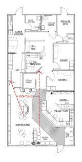 Optometry Office Floor Plans by Interior Design Exam