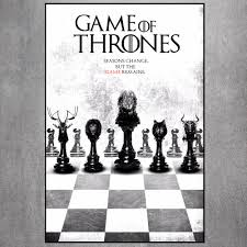 game of thrones vintage retro art painting canvas poster wall