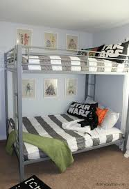 Shared Star Wars Room My Mommy Style - Star wars bunk bed
