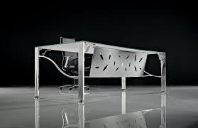 bureau metal et verre bureau design flower montpellier 34 nîmes 30 sète