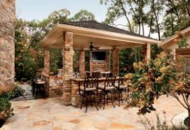 new design kitchens outdoor pavilion with fireplace and kitchen