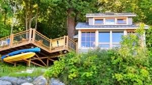 458 sq ft oceanfront cottage in lummi island washington small