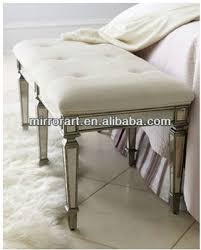 Mirrored Bedroom Bench Bedroom Bench With Glass Mirror Fashion Legs Buy Modern Bedroom