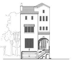 Townhouse House Plans 4 Story Townhouse Floor Plan For Sale